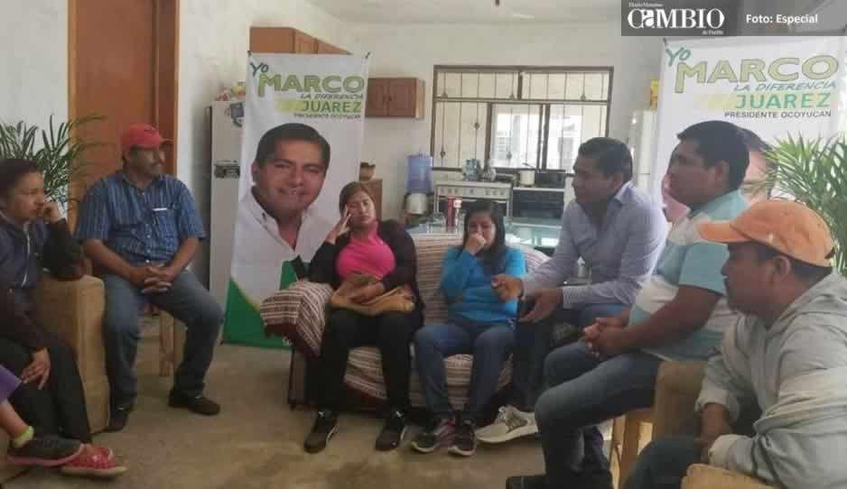 En mi campaña no hay tiempo para simulaciones: Marco Juárez
