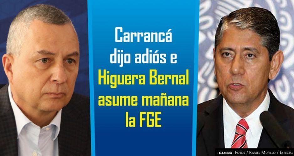 Carrancá dijo adiós e Higuera Bernal asume mañana la FGE