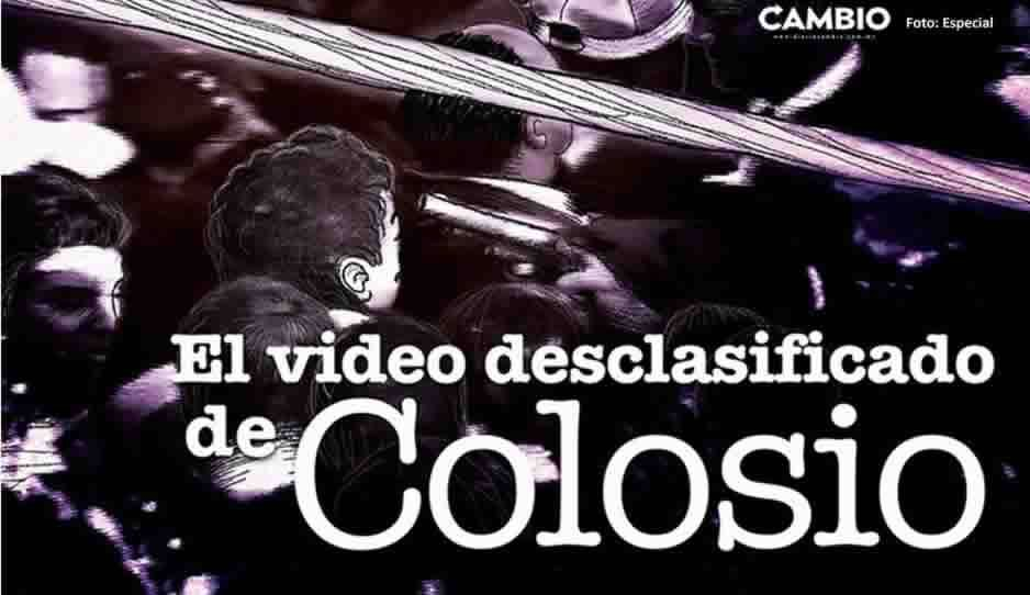Difunden video clasificado del asesinato de Colosio