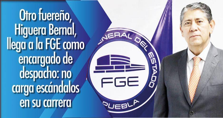 Otro fuereño, Higuera Bernal, llega a la FGE como encargado de despacho: no carga escándalos en su carrera