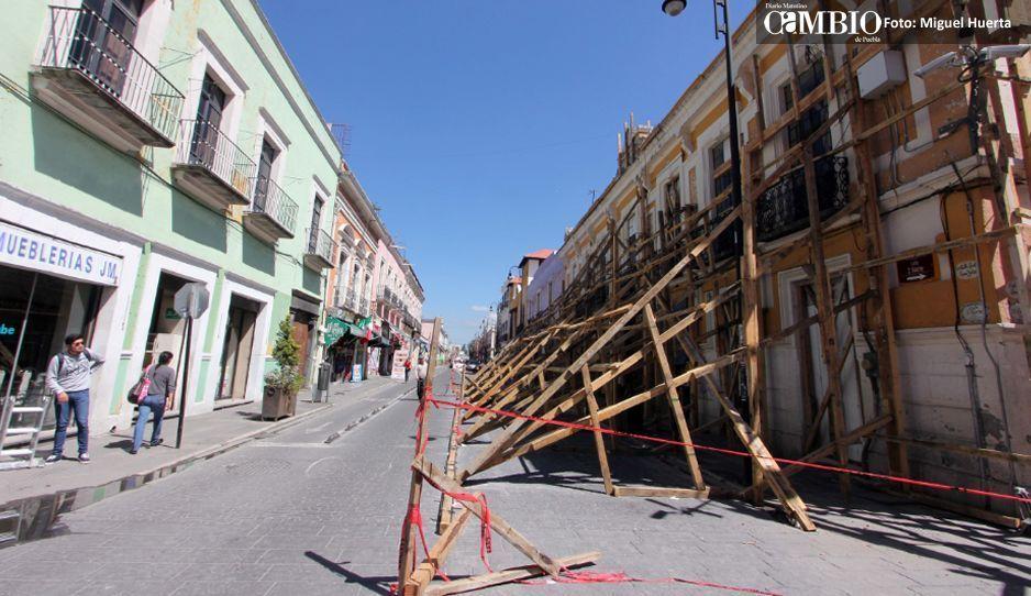 A 9 meses del sismo, 14 casonas del Centro aún no se restauran