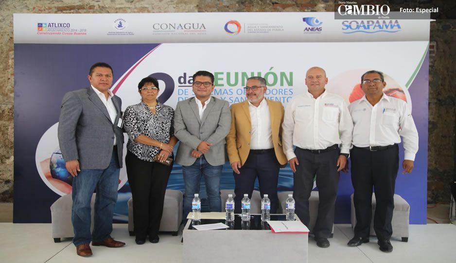 Atlixco sede de la 2ª Reunión de Sistemas Operadores de Agua y Saneamiento del Estado de Puebla