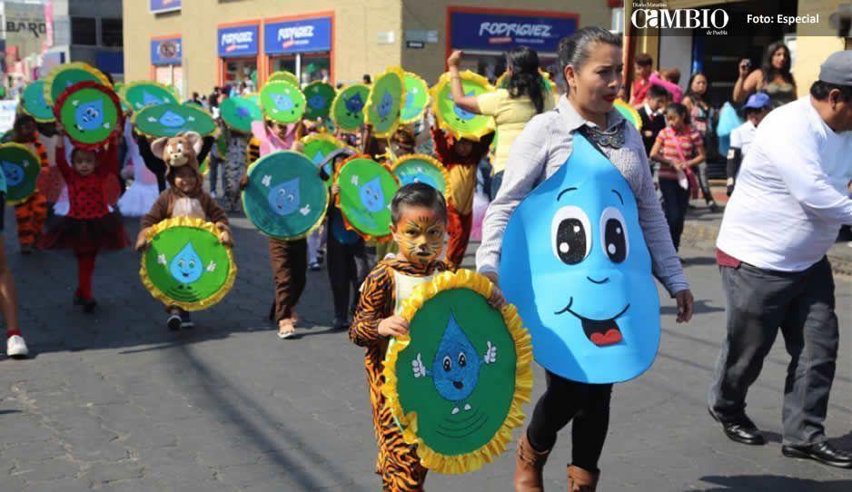 Celebra DIF de Atlixco el tradicional desfile infantil