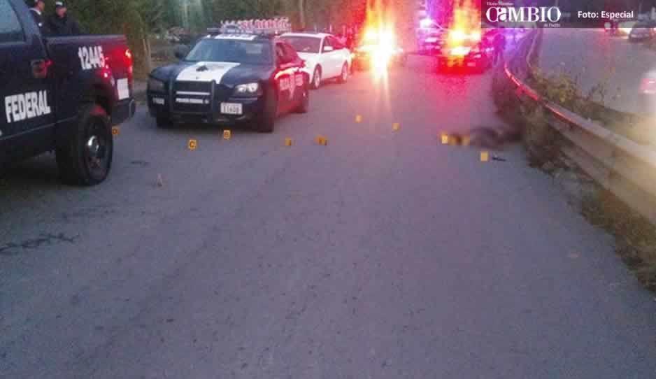 Balacera en el tramo Nuevo Necaxa-Texcapa deja un delincuente muerto y 5 detenidos