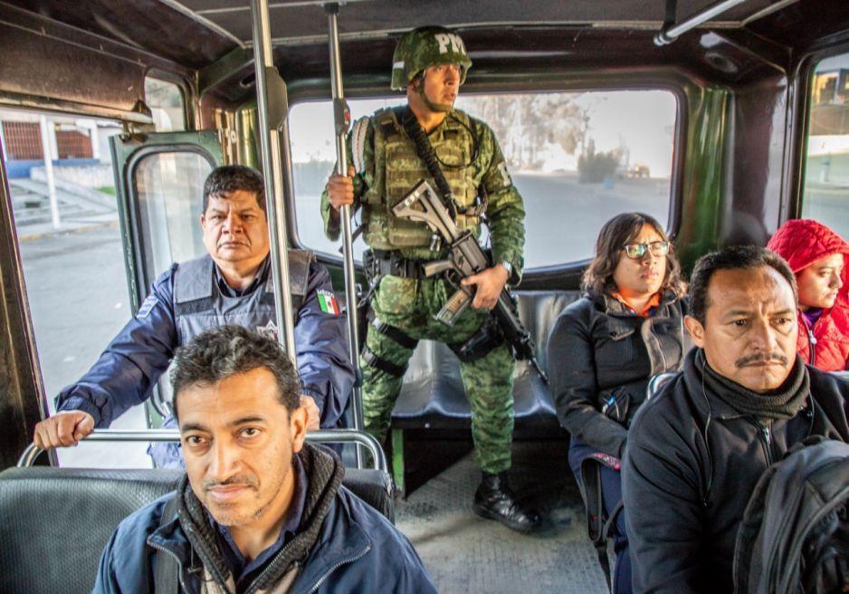 Sedena y Ssptm robustecen Operativo Pasajero Seguro en Puebla
