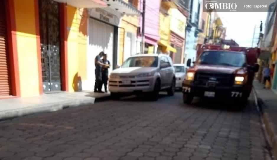 Fuga de gas alarma a habitantes de Atlixco