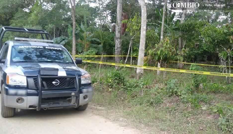A machetazos, matan a joven en Atlixco por posible venganza entre pandillas