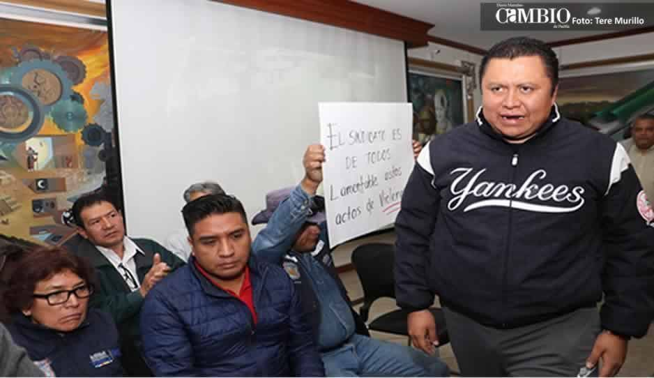 Líder sindical responsabiliza a Israel Pacheco por lo que le pueda pasar a él y a su familia (VIDEO)