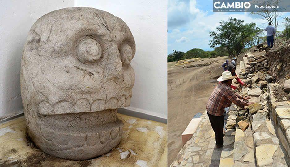 Arqueólogo resalta la importancia del primer templo dedicado al dios Xipe Tótec descubierto en Tehuacán