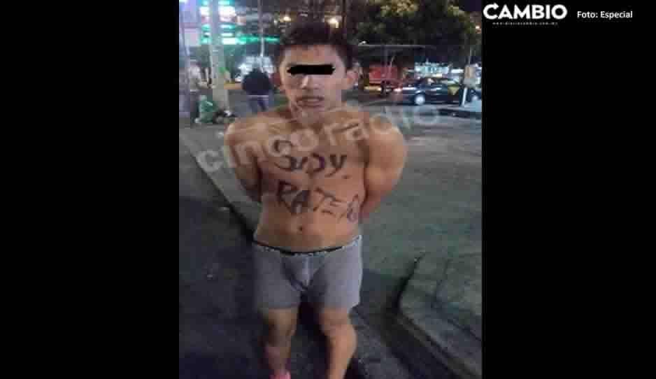 El Pajarito, implicado en el asesinato de Karla Fernanda ya había sido exhibido en redes por ratero