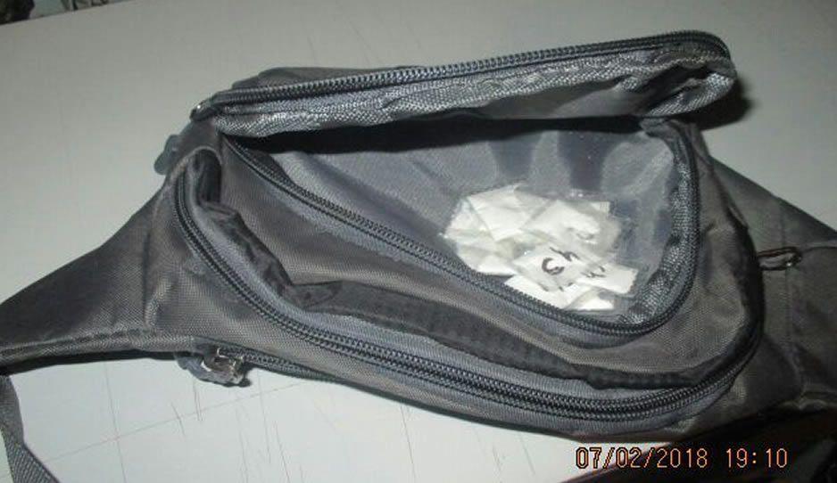 Detienen a presunto narco cargado de cocaína en Texmelucan