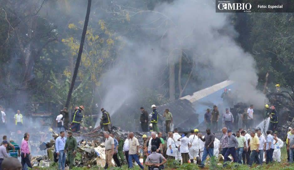 Avión accidentado en Cuba era de una aerolínea mexicana