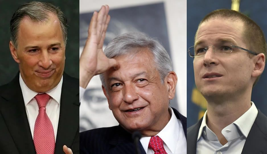 Abruman a AMLO; ahora Meade lo reta a debate