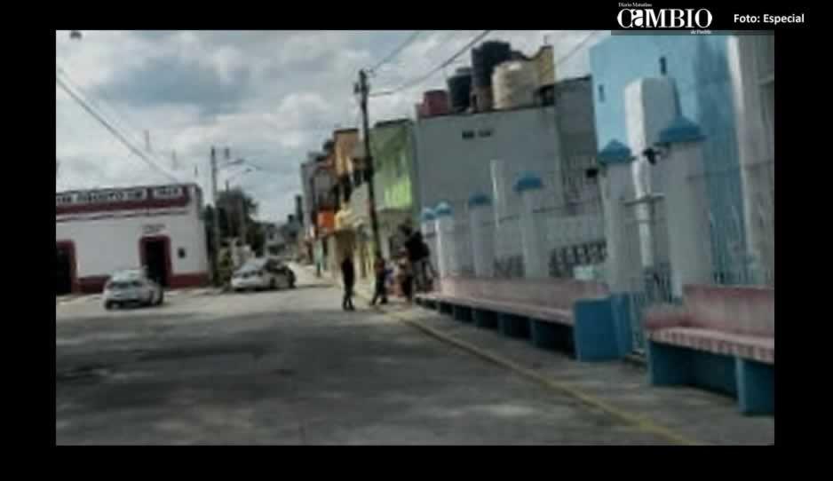 Balacera entre presuntos huachicoleros causa pánico en comunidad de Texmelucan