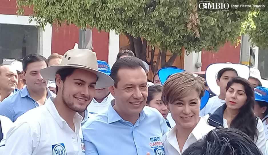 Rubén Garrido acepta debatir propuestas durante este proceso electoral en Texmelucan