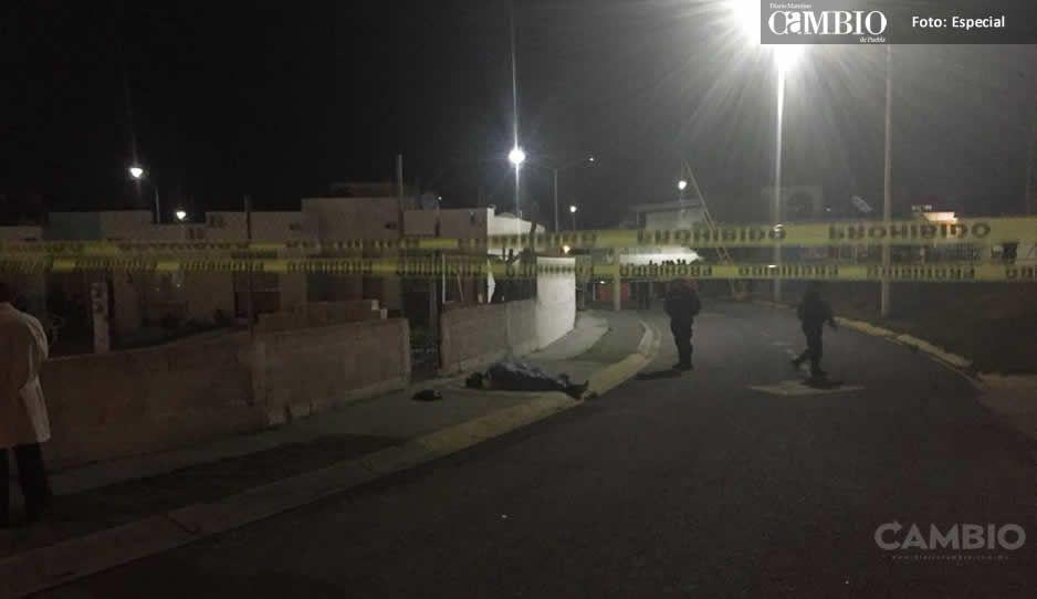 Asesinan a hombre en fraccionamiento de Atlixco