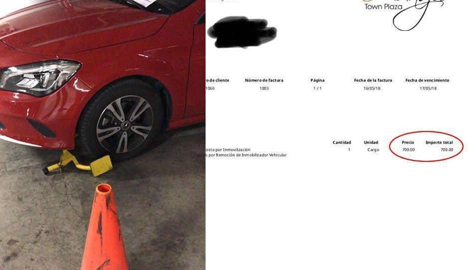 Colocan inmovilizadores en Sonata ¡y aplican multas de 700 pesos!