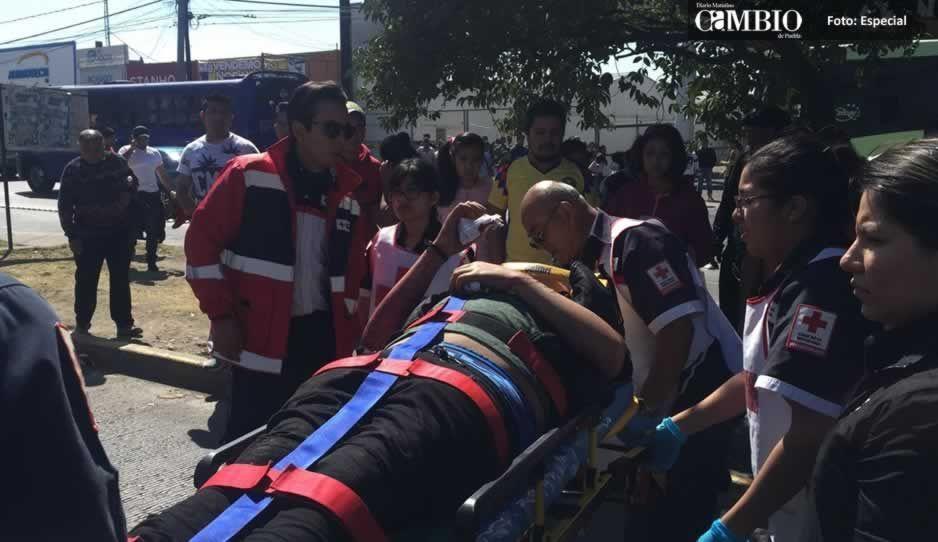 Atropellan a tres personas en la colonia Cleotilde Torres