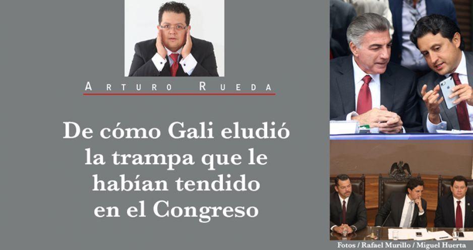 De cómo Gali eludió la trampa que le habían tendido en el Congreso