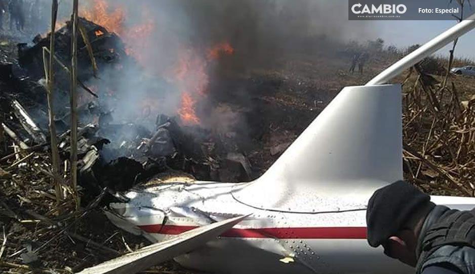 En dos años han caído tres aeronaves en la zona cercana al aeropuerto Hermanos Serdán