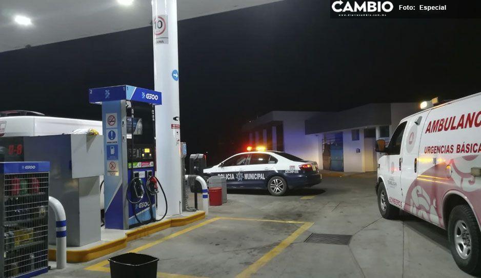 Imparables los asaltos a mano armada, ahora fue una gasolinera en Texmelucan