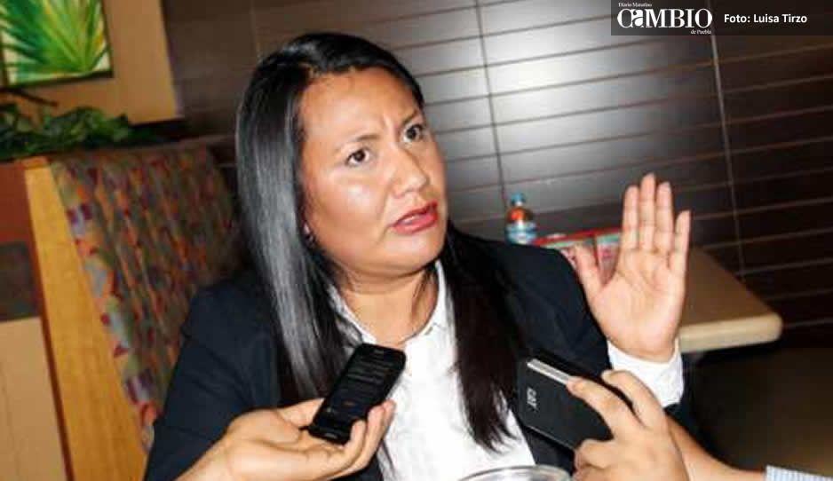 Tachan de mentirosa a Melly Macoto: no cumplió sus compromisos en Coronango