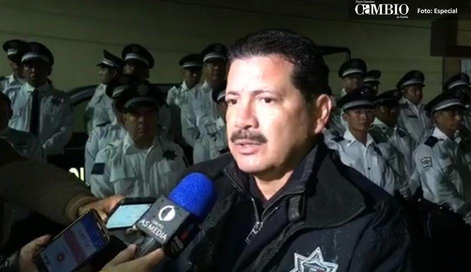 Arriaga promete convertir a San Pedro Cholula en el municipio más seguro