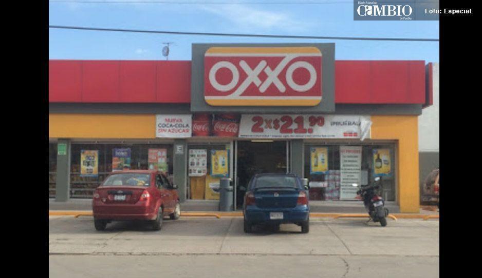 Otro atraco más en Texmelucan: ahora fue un Oxxo
