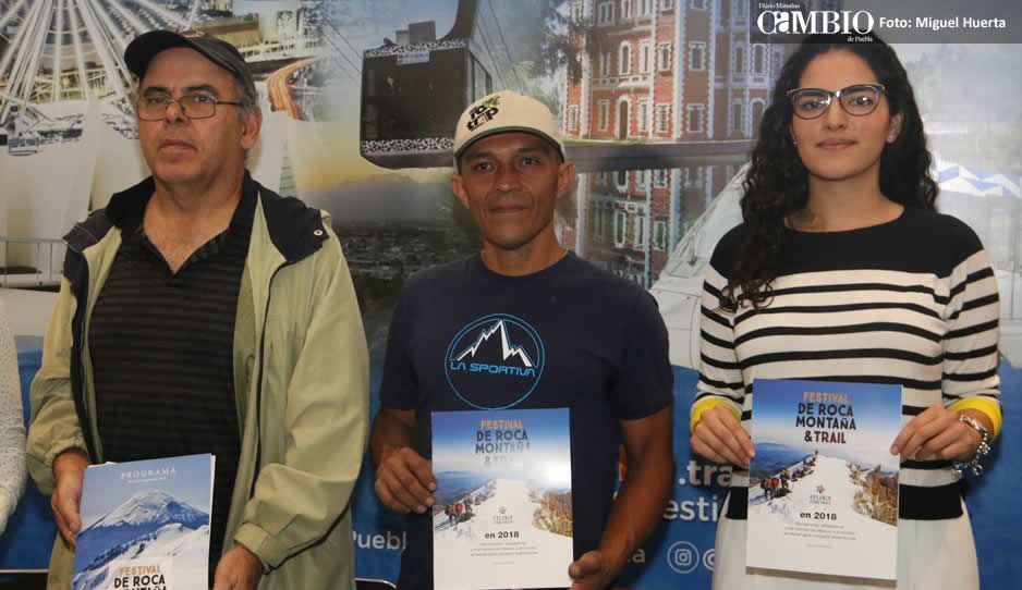 Atlixco recibirá a montañistas internacionales en el Festival de Roca, Montaña y Trail