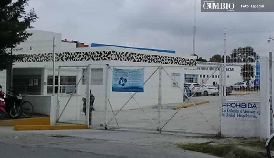 Suspenden consultas en el Hospital Integral de Texmelucan tras fuga de gas en Villa Frontera