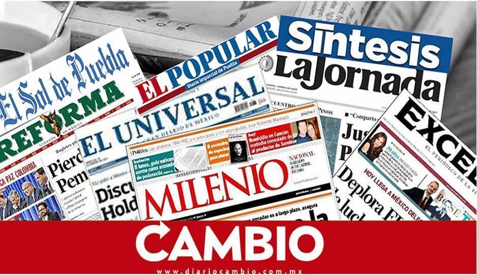 Aquí los titulares de la prensa nacional y local del viernes 04 de enero