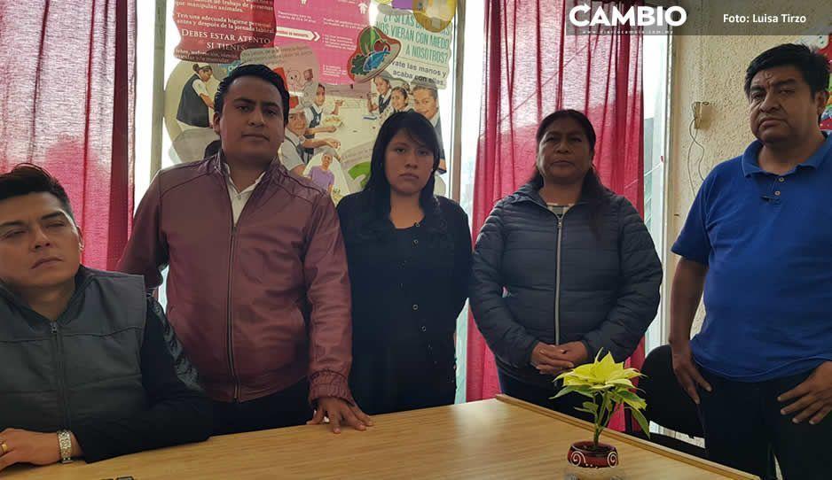 Regidores y síndico de Xoxtla se rebelan contra alcalde Ángel Flores Ramos
