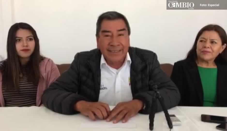 Candidato del PSI de San Pedro Cholula dice que no declinará por nadie