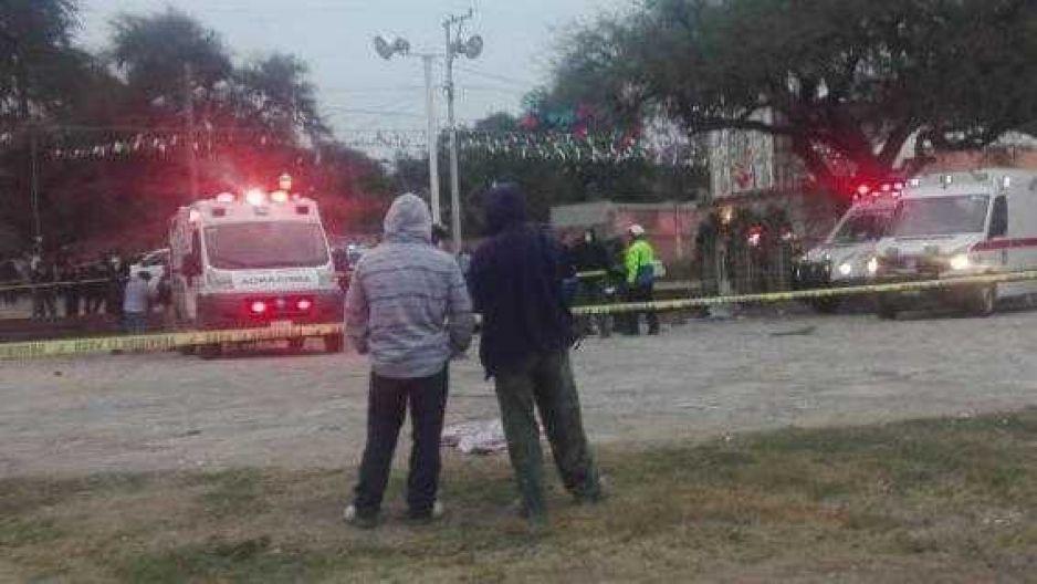 VIDEO: Explosión de pirotecnia durante una celebración religiosa deja cinco muertos y nueve heridos