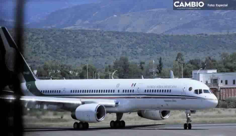 Adiós vaquero: Así lucía el avión presidencial antes de venderlo