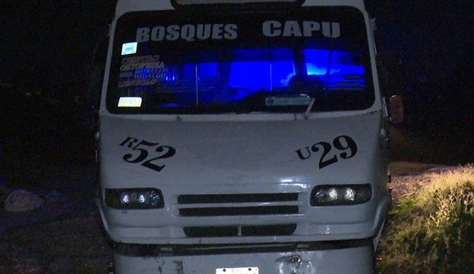 Asesinan de un balazo a conductor de la Ruta 52 en el Periférico Ecológico