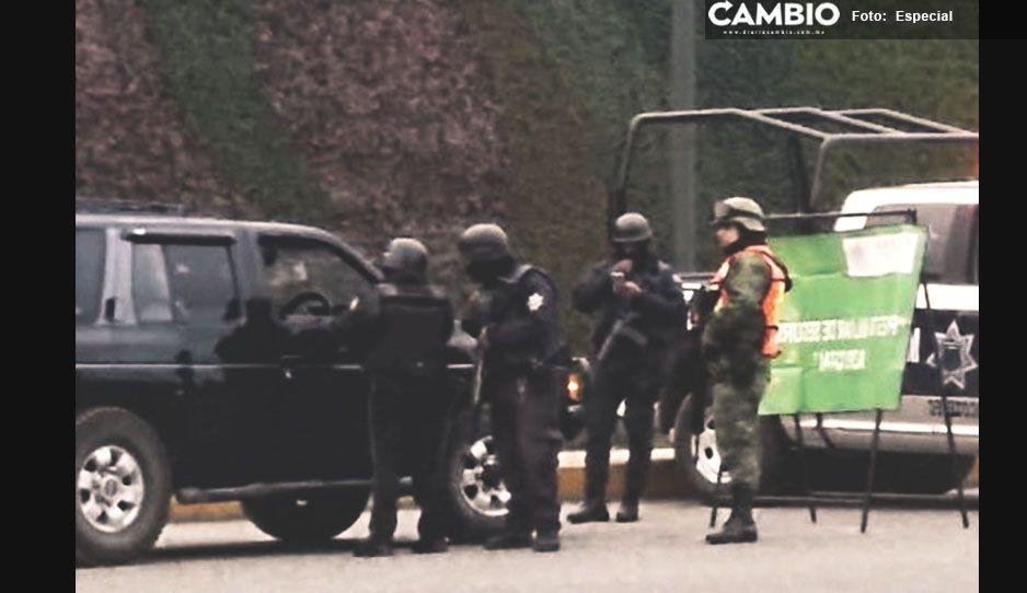 Ejército refuerza seguridad en Xicotepec, Necaxa y Huauchinango