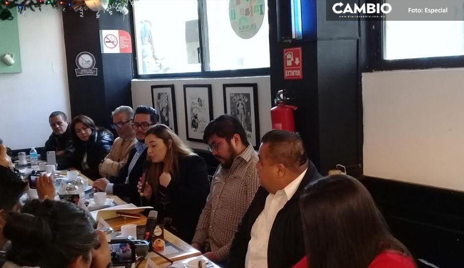 Canaco responsabiliza a Fernanda Rame por irregularidades en comercio informal de Texmelucan