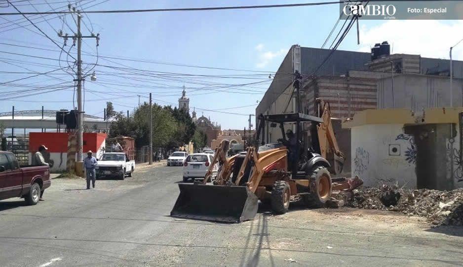 Después de 3 años de retraso inician la construcción de radial a Tlaxcalancingo