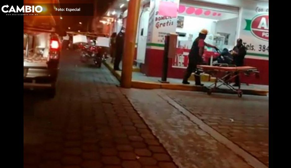 Muere una persona en asalto a pizzería en Tehuacán