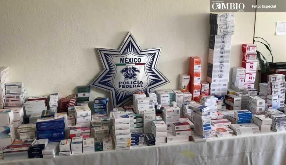 Tras el robo de una farmacia en Atlixco, detienen a cuatro personas en Texmelucan