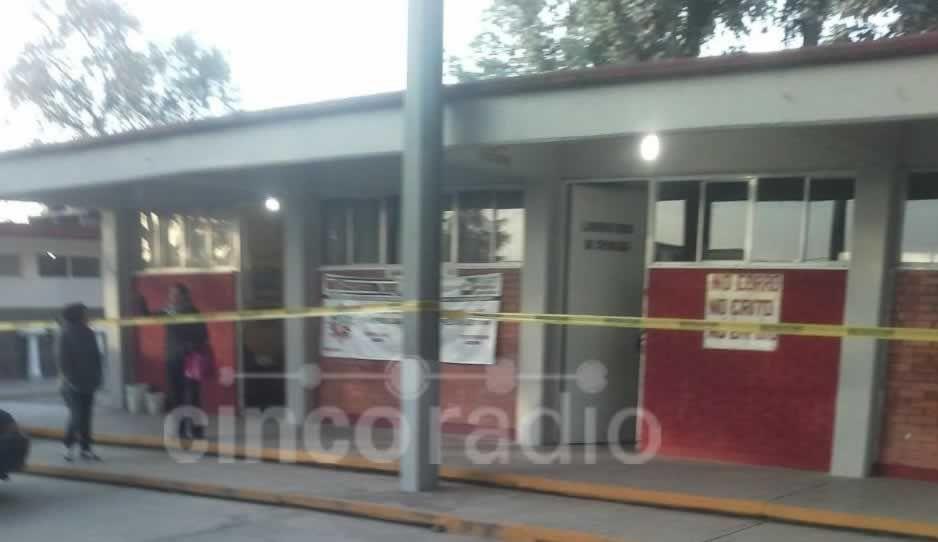Suspenden clases en secundaria de Cuautlancingo por robo en el plantel