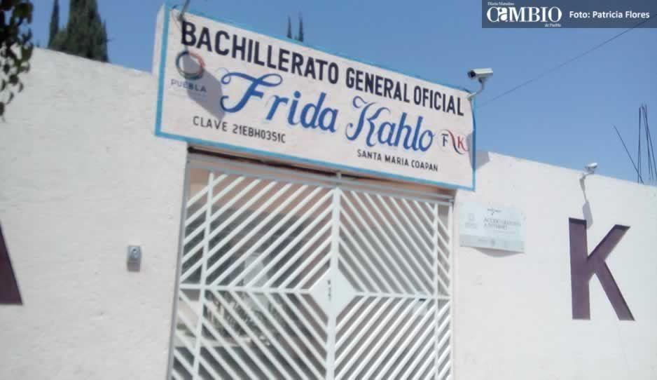 Ratas intentan robar en bachillerato de Tehuacán; atracaron cuatro negocios cercanos