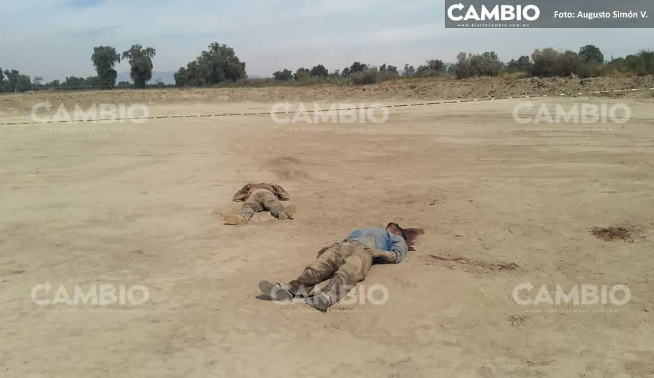 Municipales hallan dos ejecutados en Tecamachalco
