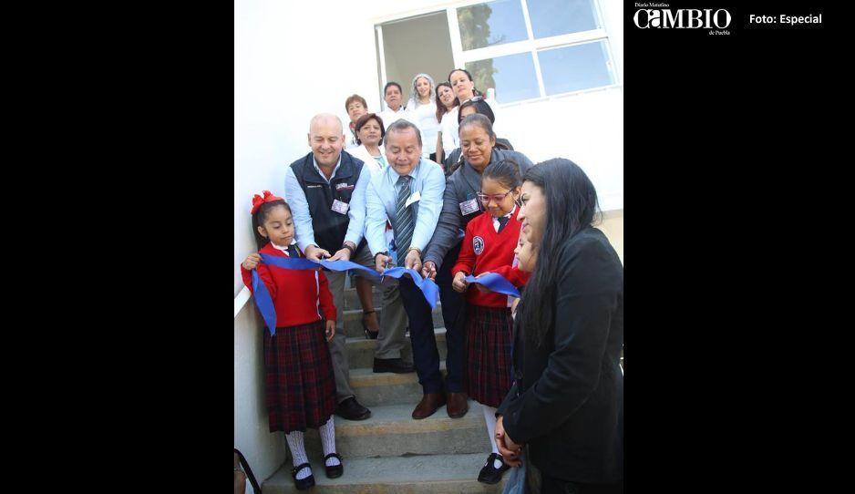 Galeazzi Berra inaugura rehabilitación de aula