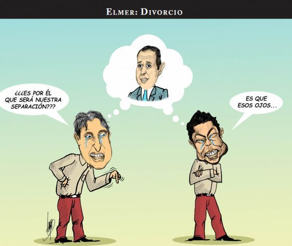 Monero Elmer : Divorcio