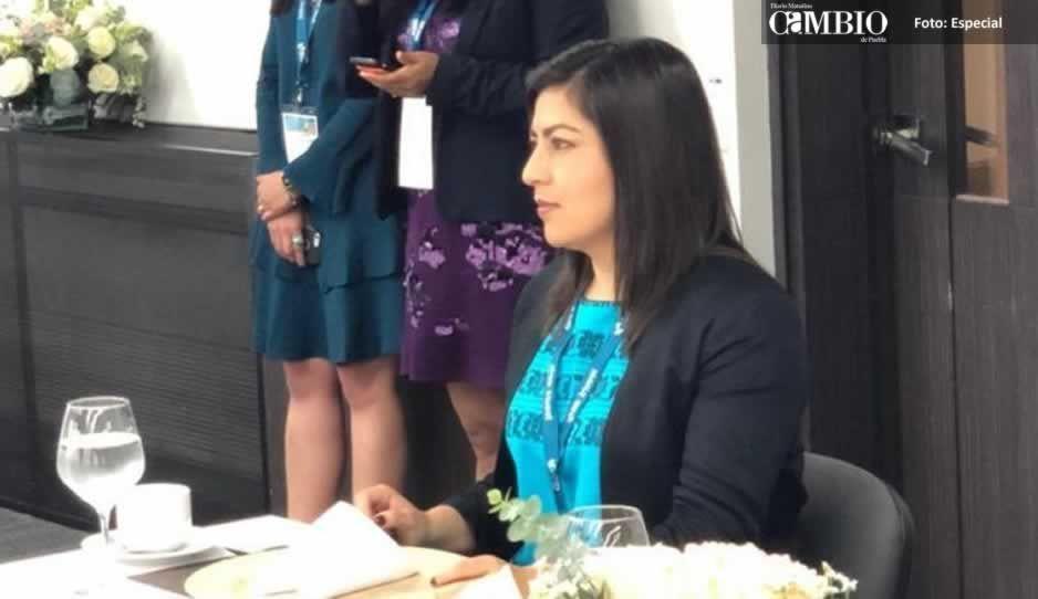 Participa Claudia Rivera en mesa de trabajo de alcaldesas en Colombia