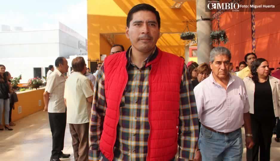 Edil de Huejotzingo pide licencia para separarse del cargo