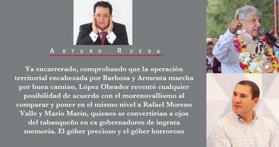 López Obrador no quiere nada con Los Moreno Valle