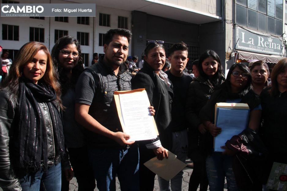 Inicia registro de planillas en 17 juntas auxiliares de Puebla, llevan hasta 48 horas formados